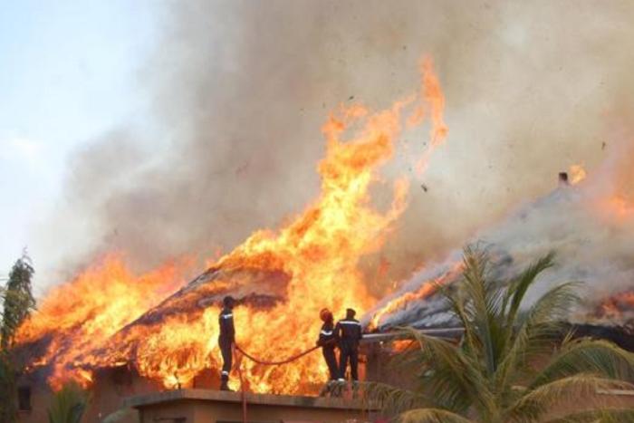 Urgent : un incendie ravage plusieurs habitations à Bofi (Kaffrine)