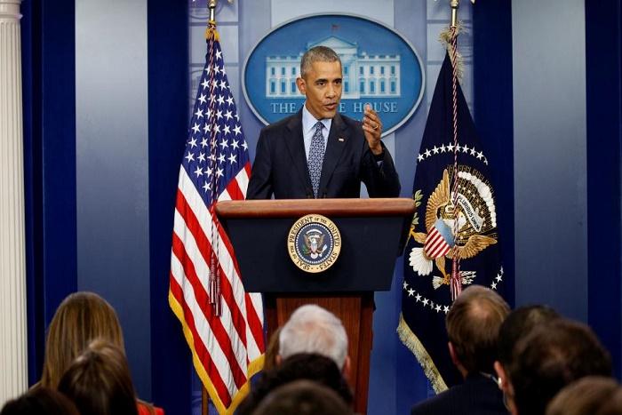 Dans sa dernière conférence de presse, Barack Obama fait la leçon à Donald Trump