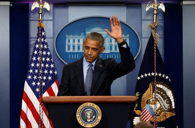 """Sur le départ, Barack Obama """"pense que ça va aller"""""""
