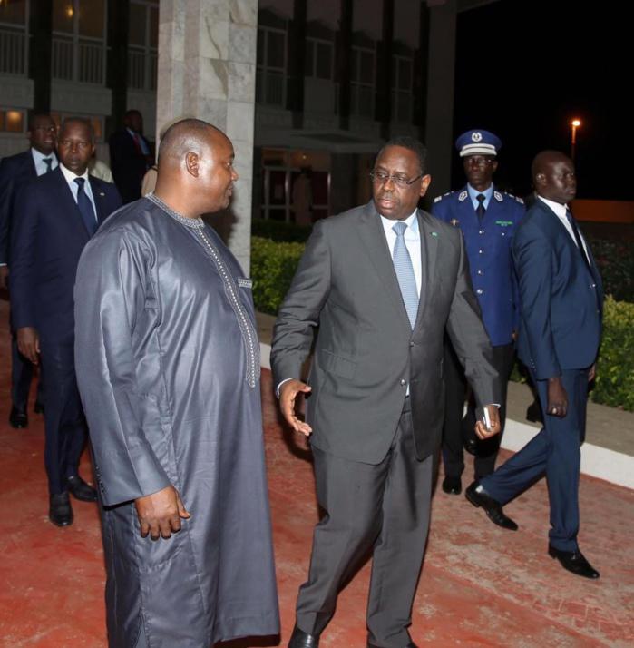 Le Président Macky Sall félicite le nouveau président de la Gambie Adama Barrow