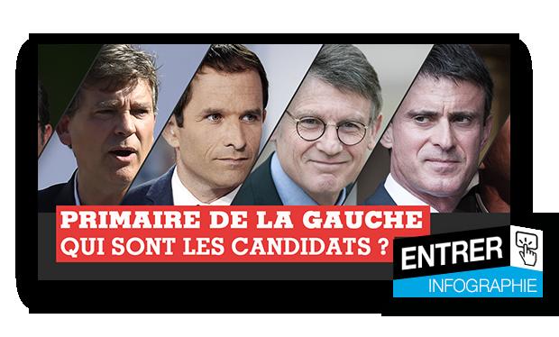 Primaire de la gauche : plus qu'un candidat, l'avenir du PS en jeu