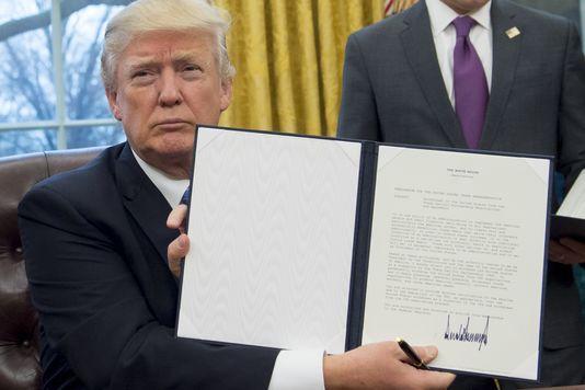 Donald Trump tire un trait sur le traité de libre-échange transpacifique