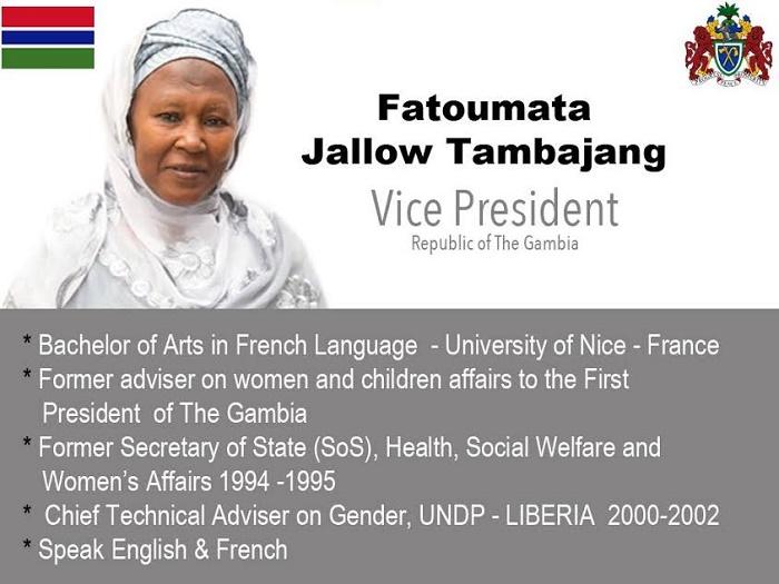 """Age de Fatoumata Jallow Tambajang: Barrow viole la Constitution d'entrée, """"Gambiahasdecided"""" réclame des comptes"""
