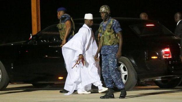 Gambie : Tous les véhicules du gouvernement et de la Présidence mutés au nom de Yahya Jammeh