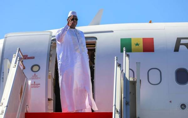 28e Sommet UA: Macky a quitté Dakar ce vendredi