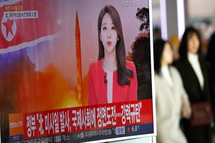 La Corée du Nord a tiré son premier missile depuis l'élection de Trump