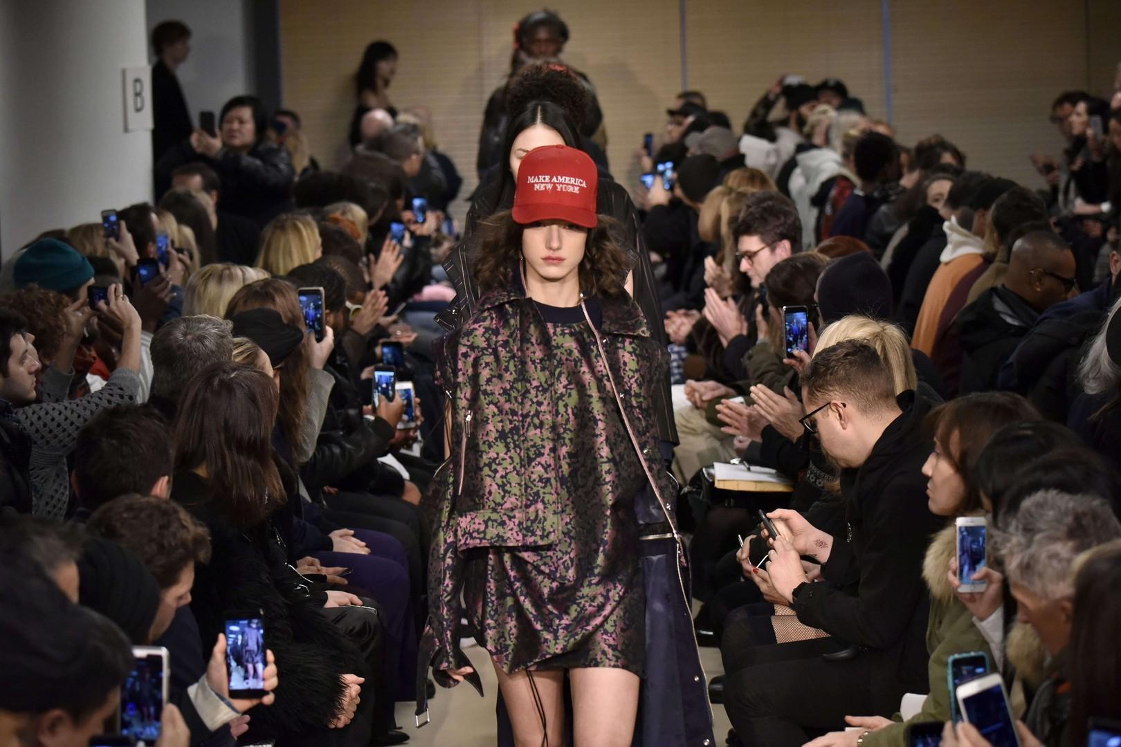 Fashion Week de New York: la mode entre en résistance contre Donald Trump