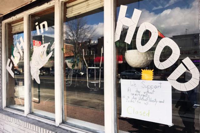 «Journée sans immigrés» à Washington, des dizaines de restaurants fermés