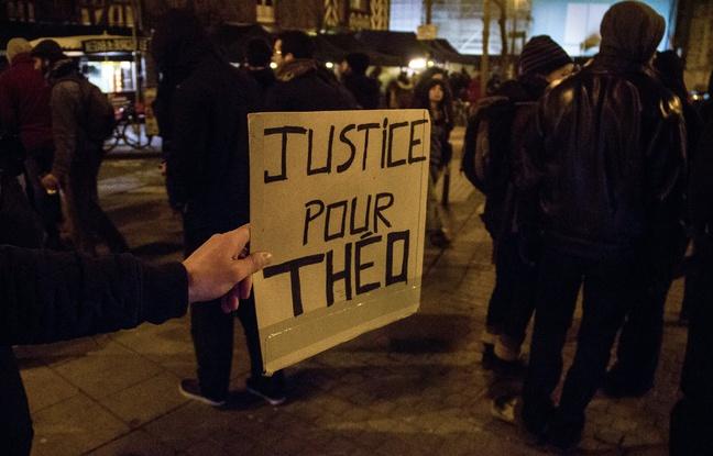 Affaire Théo: «C'est un geste accidentel», explique le policier mis en cause