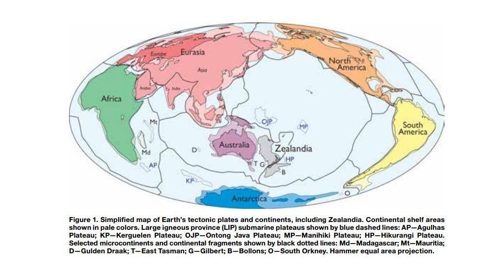 Un nouveau continent découvert au large de l'Australie