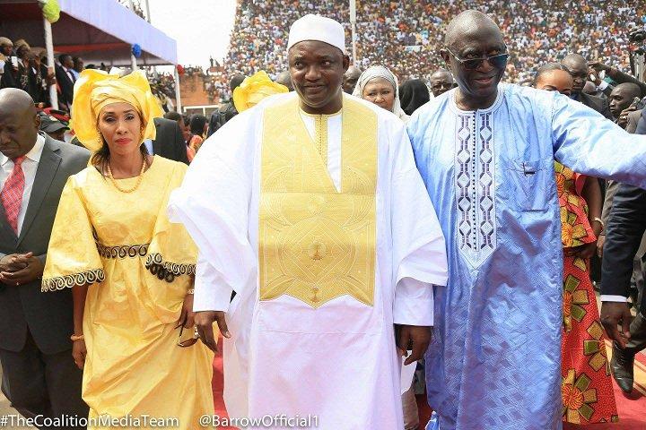 DIRECT Gambie: Fête indépendance et investiture Adama Barrow Ambiance à l'Indépendance stadium