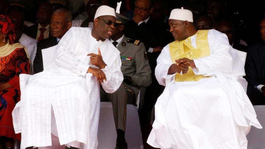 Gambie: Macky Sall et Adama Barrow renouent des liens historiques