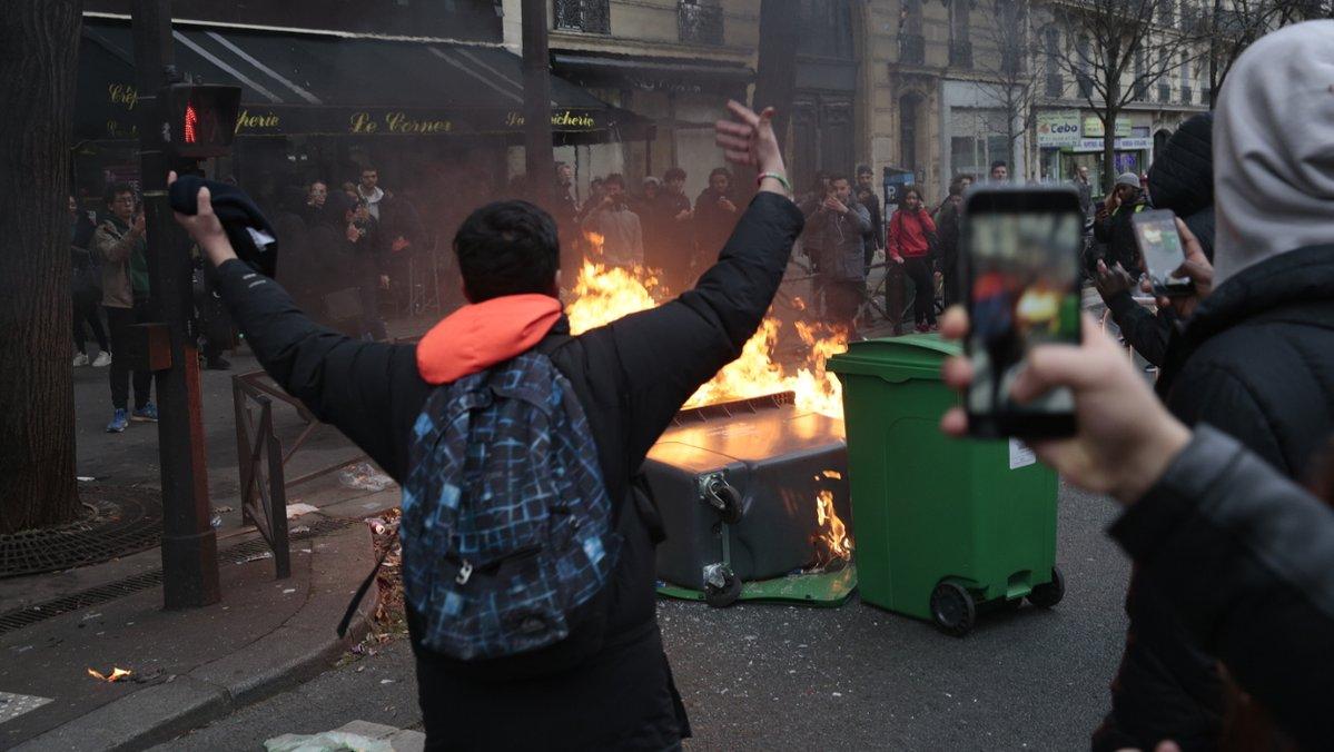 Affaire Theo: douze lycées parisiens bloqués