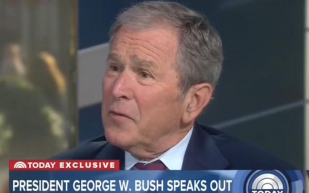 George W. Bush critique les sorties de Donald Trump contre les médias