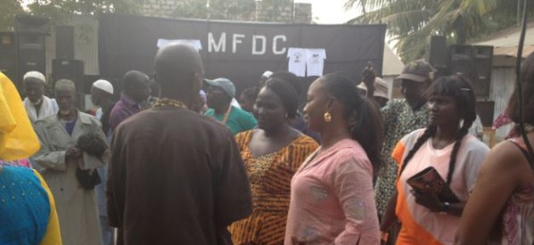 Retrouvailles du MFDC à Ziguinchor