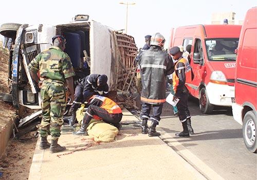 Mbacké: 2 morts et 20 blessés dans un accident de circulation
