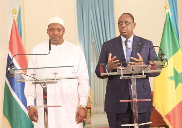 Accords: Macky et Barrow lèvent les restrictions et relancent la coopération