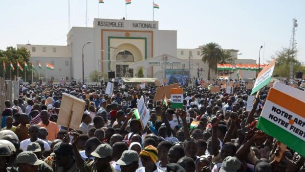 Niger : manifestation antigouvernementale