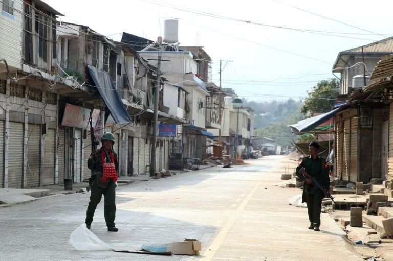 Birmanie: au moins 30 morts dans des combats près de la Chine
