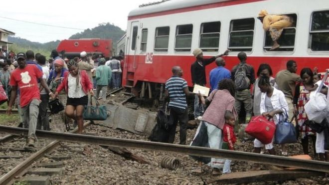 Caméroun:  un train roulant sans phare tue trois personnes
