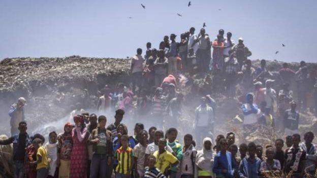 Ethiopie: éboulement meurtrier dans une décharge