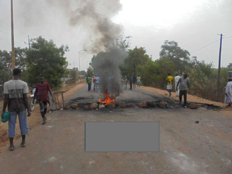 Un mardi d'émeutes à Kolda : le  commissariat, le Trésor public et le domicile du chef de la Police mis à sac
