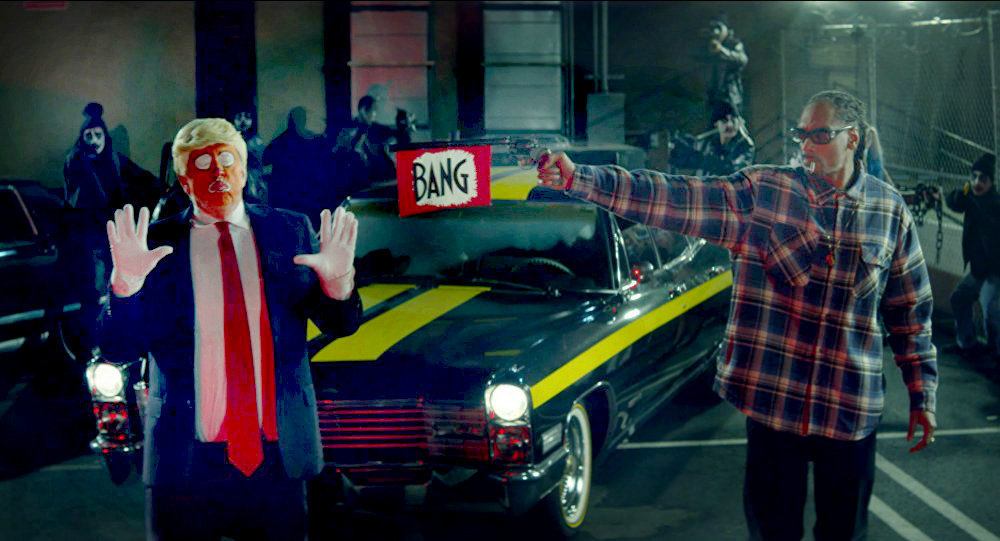 Tollé aux USA: Snoop Dogg tue Donald Trump dans son clip