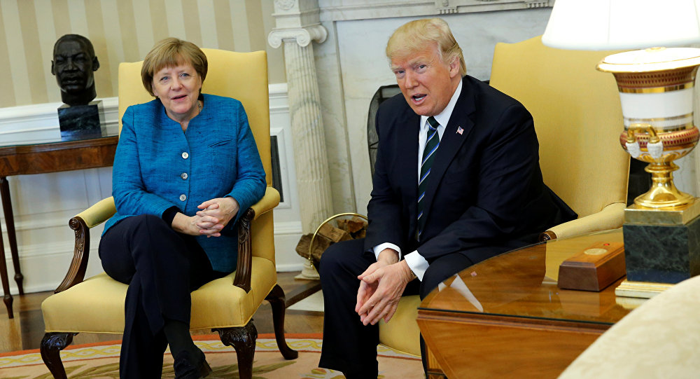Trump refuse sa main à Merkel: imbroglio ou fin de non-recevoir?