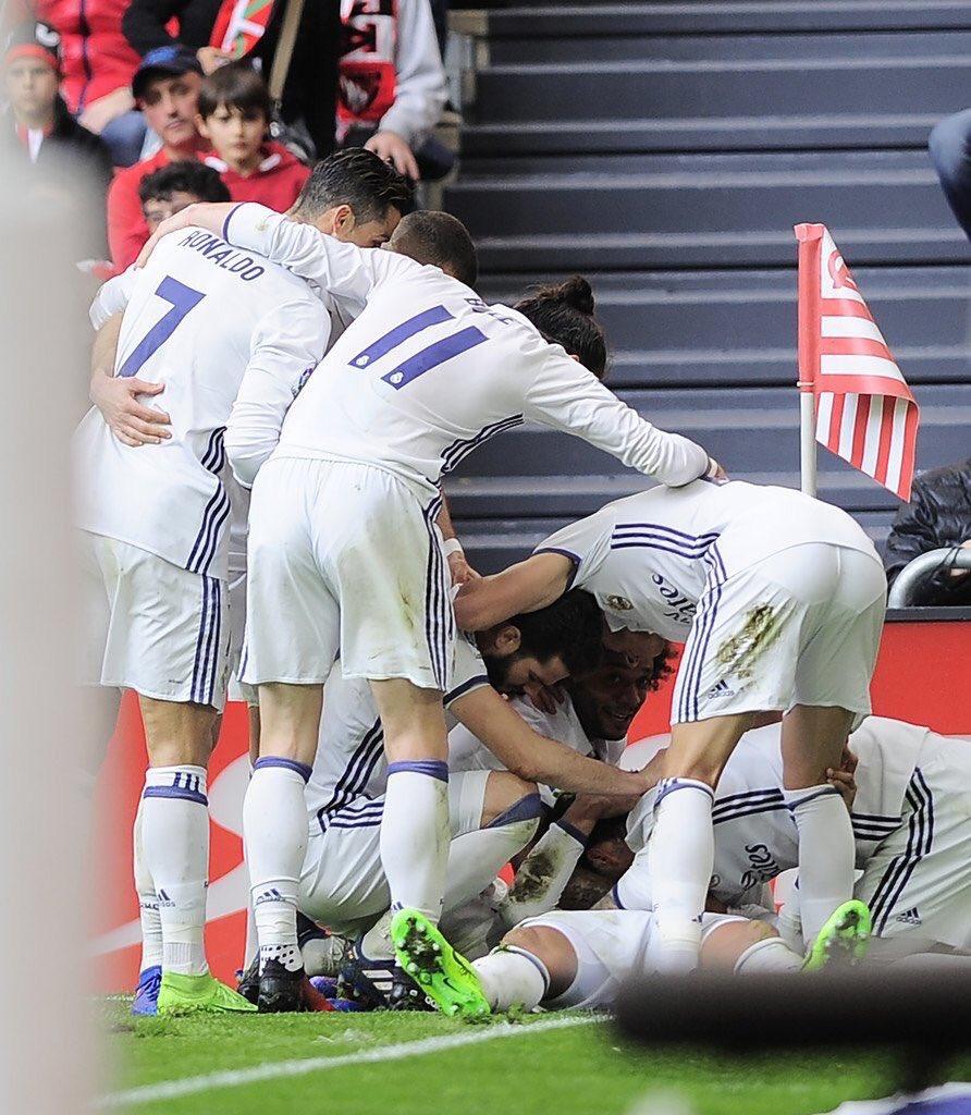 Le Real Madrid est la première équipe à battre l'Atheltic Bilbao à San Mames depuis août 2016