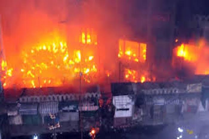 Incendie à la gare routière «Garage Nioro», d'importants dégâts notés