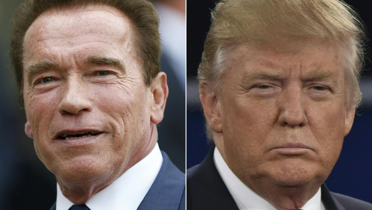 """""""Tu es en chute libre"""": Schwarzenegger se moque de l'impopularité de Trump"""