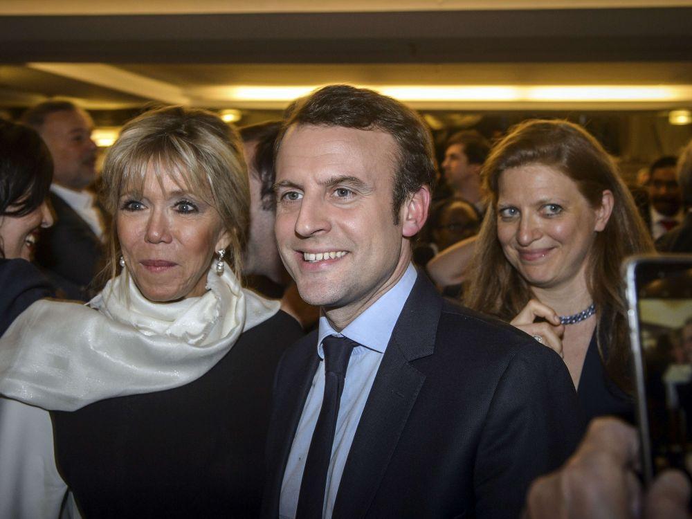 Sondage: Macron toujours donné en tête au premier tour
