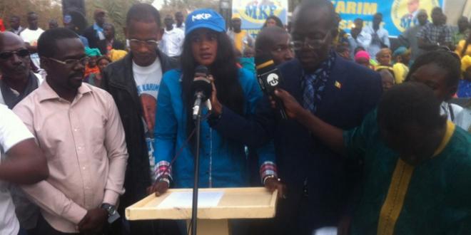 Emprisonnement d'hommes politiques, vie chère …: « l'ère Macky Sall est infernale », Amy Sakho karimiste