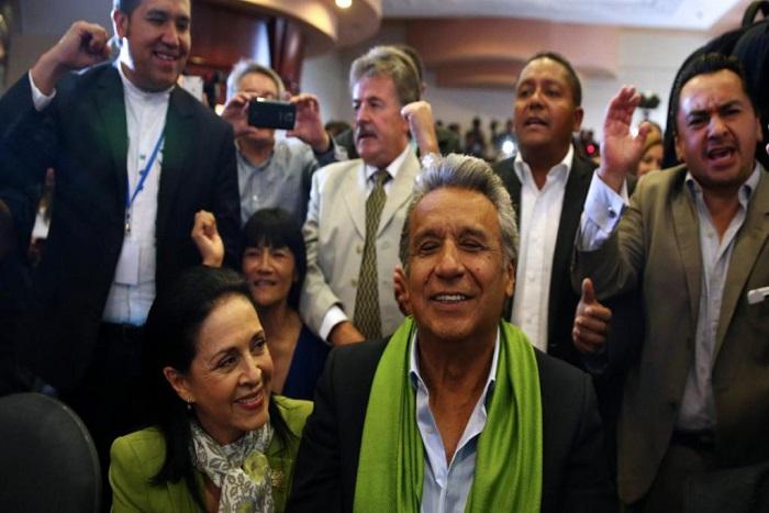 Présidentielle en Equateur: le socialiste Lenin Moreno revendique la victoire