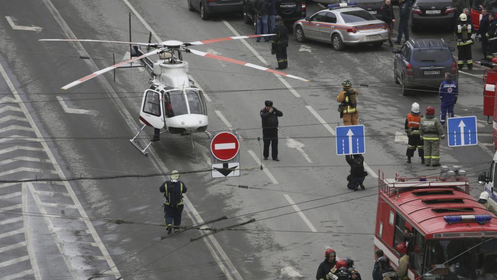 L'auteur de l'attaque de Saint-Pétersbourg serait originaire d'Asie centrale