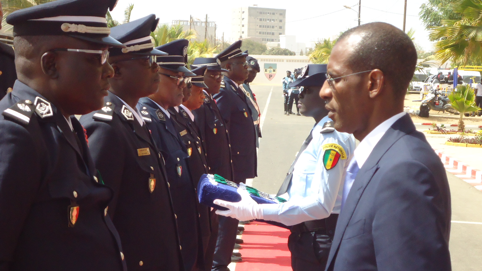 57ème fête de l'Indépendance: Abdoulaye Daouda Diallo distingue les nominés