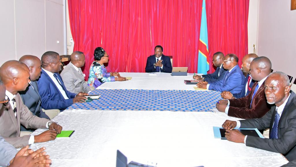 RDC: Joseph Kabila consulte l'opposition avant son discours devant le Parlement