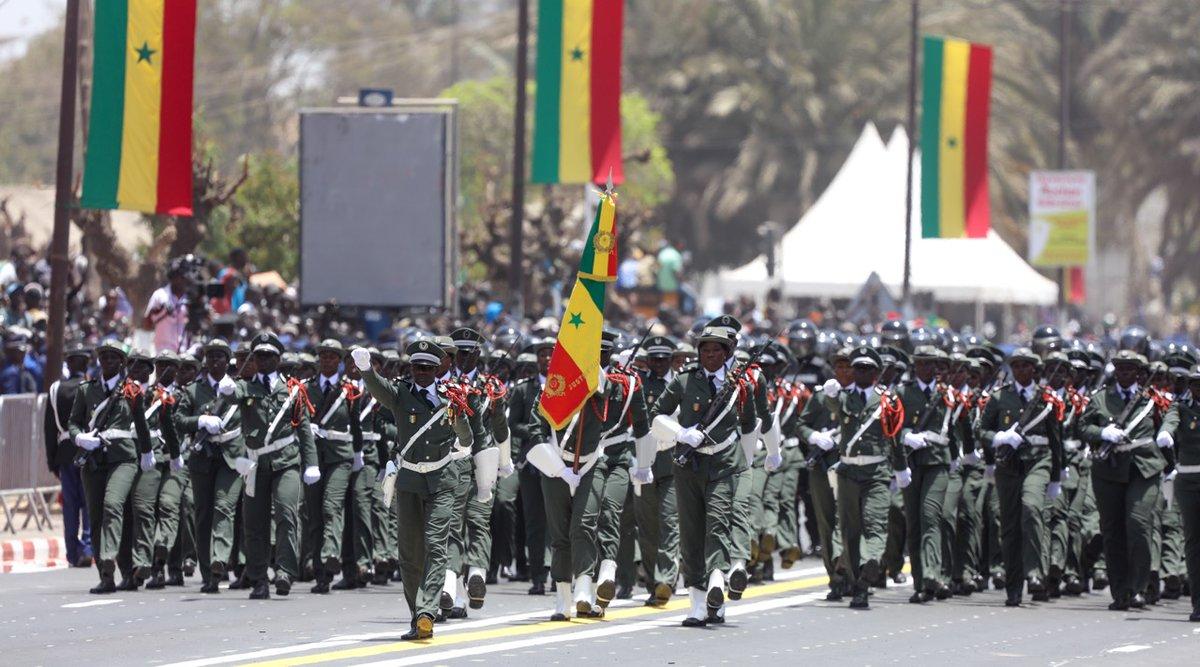 Défilé du 4 avril : la participation remarquée des femmes sous les drapeaux