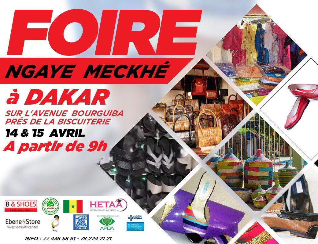 Les artisans de Ngaye Mékhé exposent leurs produits à Dakar