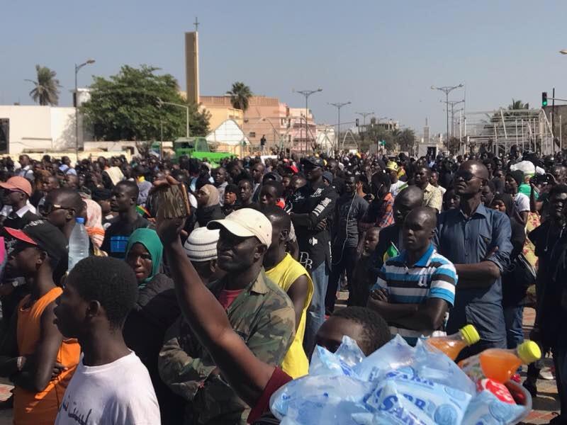Rassemblement Yen à marre: les images de la mobilisation