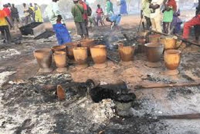 La colère du maire de Médina Gounass Seydou Bâ: «Le feu pouvait être circonscrit s'il y avait assez d'eau»