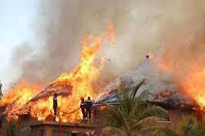 Incendie à Ourour : les sapeurs-pompiers de Gossas en panne d'essence avant d'arriver sur les lieux