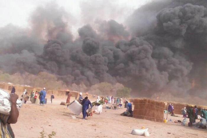 Incendie de Médina Gounass : Un chef religieux et trois personnes arrêtés