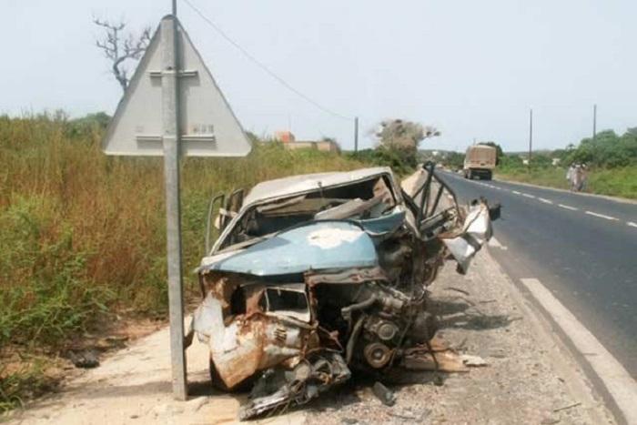 Accident à Gandiaye : Un mort et 5 blessés