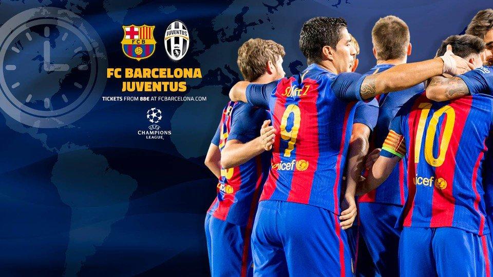 C1 - 1/4 de finale retour : Fc Barcelone vs Juventus de Turin
