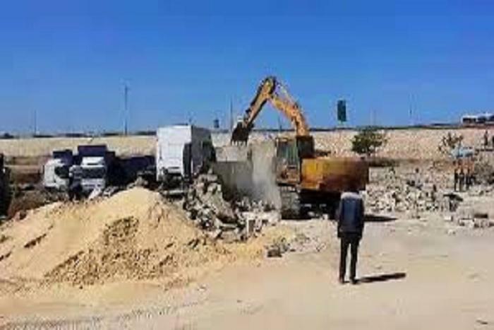 Tivaouane  Peulh : les bulldozers de la DESCOS rasent les constructions irrégulières
