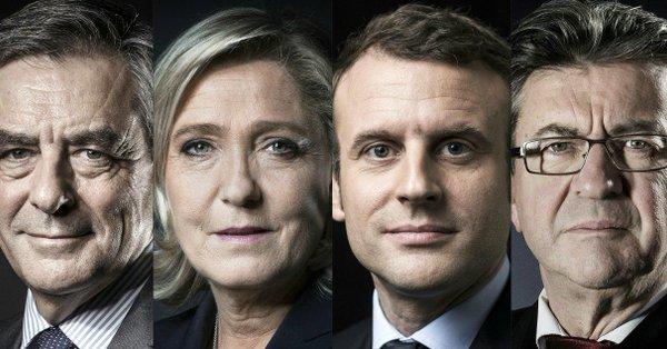 EN DIRECT - Suivez les résultats du premier tour de la #Presidentielle2017