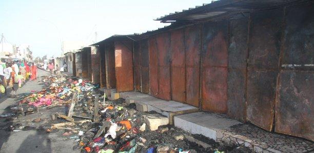 Incendie au marché des HLM: 4 800 000 FCFA récoltés par les commerçants