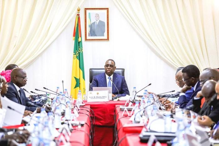 Le Communiqué du Conseil des ministres du mercredi 26 avril 2017