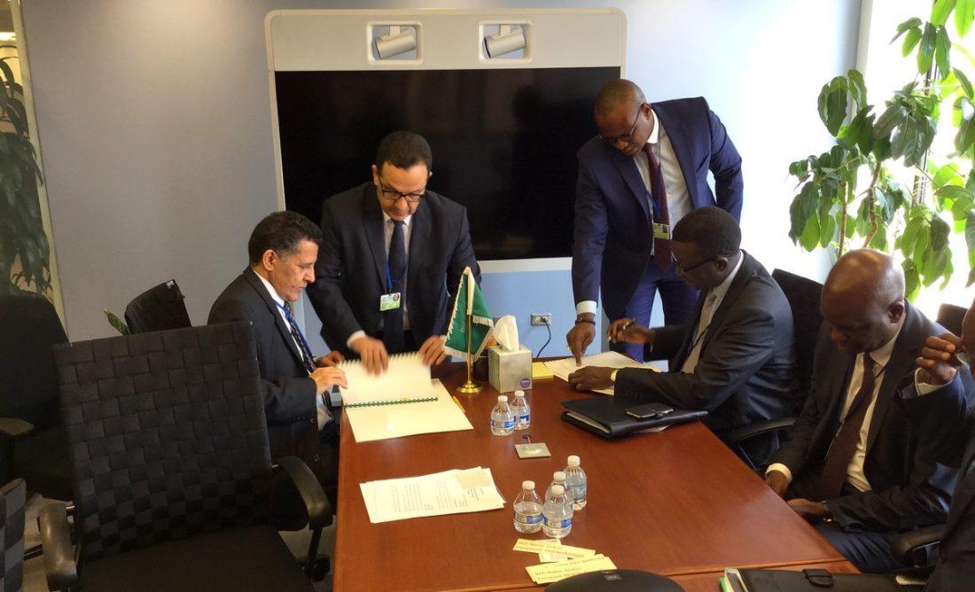 Le fonds saoudien finance la route Tambacounda-Goudiry pour 34,4 milliards de f cfa